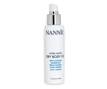 NANNIC ULTRA MOIST DRY BODY OIL