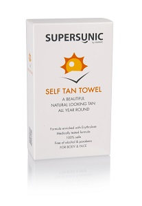 SUPERSUNIC SELF TAN TOWEL (Автозагар салфетки)